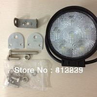 2PC CDD02 LED Car Work Light 18W 12V 6LED White 1800LM Car Extra Headlight For Vehicle Truck SUV Jeep Worklight + Free Shipping