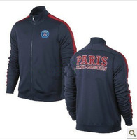 Top Thai version 13-14 latest Paris st germain sapphire N98 jacket, sportswear clothing
