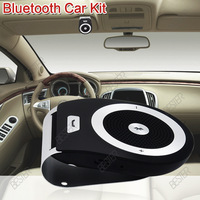 Free Shipping 2013 Newest Wireless 3.0 Hands-free mini Speaker Bluetooth Car Kit With Car Charger(LYX134 1pc)