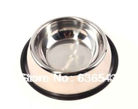 Top-grate Stainless Steel Pet Products Bowl Dog Food Feeder Products Pet Feeder Dog Bowl FREE SHIPPING HOT SELLING