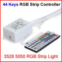 ( 100 pcs/lot ) 44 Keys RGB Led Strip Lights IR Infrared Remote Controller For 3528 5050 RGB Led Strip Lights Wholesale