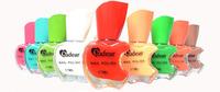 Free shipping! 1 piece New Apple design Pro 12 color Nair art Nail polish gel pot bottle, dropshipping!
