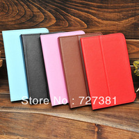 Free Shipping Protective Leather Case Cover for For 7 inch Tablet PC AllWinner Q88