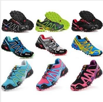 2 pieces= 1 pair, New 2013 fashion Salomon Shoes, Men sport Shoes ,Running shoes for men and men,athletic shoes