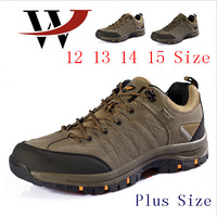 Spring Autumn Hot men brand athletic hiking shoes large size outdoor running Sneakers( 45 46 47 48 size ) Free Shipping