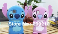 Lovely 3D stitch case Cute 3D Rilakkuma bear cartoon case for Nokia 5230 5232 5233 5235 5238 5228 5236 stitch case,1pcs/lot
