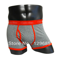 XXL boxers 21color Free shipping high quality men's brand underwear boxers 6pc/lot men's boxers briefs cotton underwear 365