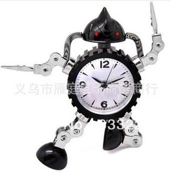 Robot Alarm Clock Digital Clock Desktop Clock Alarm Table Clock Projector New 2013 Novelty Households Gadget 2013 Despertador