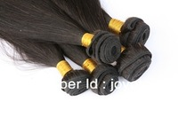 100% human hair extensions,6bundles/lot free shipping,Brazilian Virgin Remy Hair weave,straight hair weft