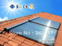 Heat pipe solar collectors with SRCC Solar Keymark CE CCC ISO ROHS