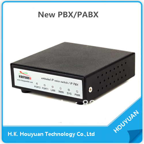 IP PBX02 support 100 SIP / IAX2 Users.VOIP Gateway ,SSH via RS232 or Network server(China (Mainland))