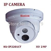 2Mp CMOS HD Network Water-proof IR Mini Network Bullet dome Camera, 1080P IP CAMERA IR 20M KU-IP2201CT 3.6MM LENS