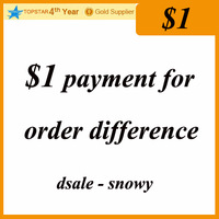1$ payment for order difference / dsale snowy