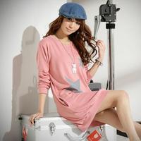J.c Enterprise Brand plus size women's 2013 new spring Autumn Korean style pullover long sleeve sweatshirt