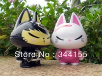 Odd cat cartoon mini speaker computer speaker
