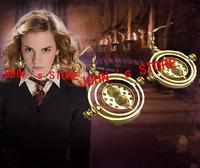 Freeshipping Time-Turner 18k gold Earrings Horcrux fans gifts Earrings HLBT08