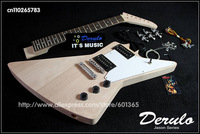 DIY Electric Guitar Kit  Set-In  Solid Mahogany Body & Maple Neck MX-012