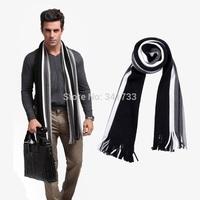 fashion scarfs mens winter scarves cotton striped shawls and scarves wrap,desigual 2014 echarpes men/10 colors/ATW
