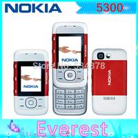 Nokia 5300 Original Unlock Cell Phone support Russian keyboard Russian menu Nokia mobilephones