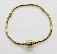 Free shipping  Alloy gold-plating fashion female Chain Bracelet