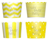 64 Designs Party Baking Cups in PET Packaging (100 boxes/2,000 pcs)