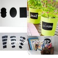 36pcs/lot Chalkboard Label Decal Stickers Blackboard Wedding Gift Tag 5*3.5cm STZ01