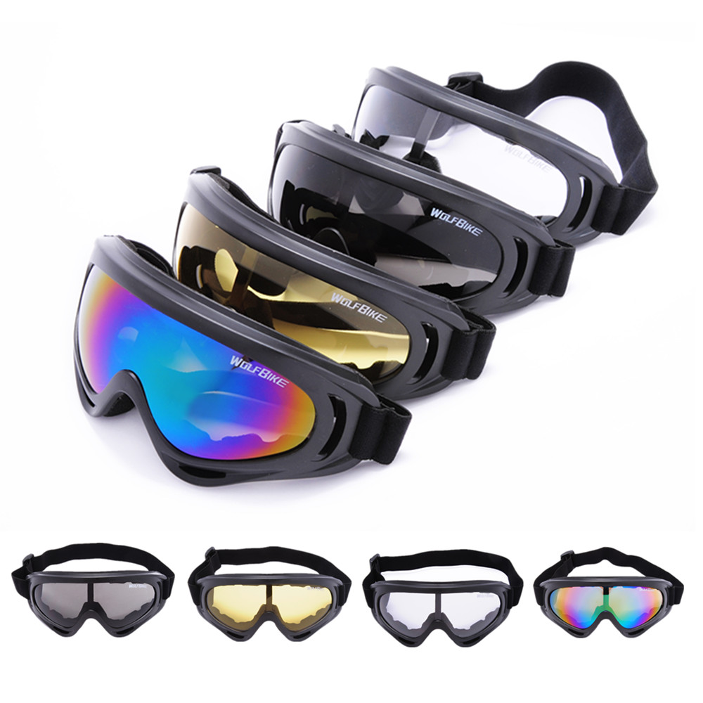 New X400 UV Protection Outdoor Sports Ski Snowboard Skate Goggles Motorcycle Off-Road Cycling Goggle Glasses Eyewear Lens(China (Mainland))