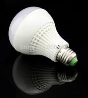 Wholesale 10Pcs/Lot 9W 28 Led Bulb AC 85V-26V E27 Led Light Lamp Warm White/ Pure White SMD 2835 Led Spotlight 15472 15477