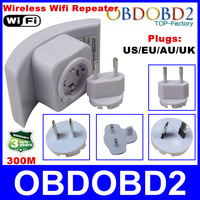 Best Price Wireless Wifi Repeater Max LAN Data Rate:30M 2dBi 802.11G/B/N Range Expander Antenna Signal Booster US'UK/EU/AU Plugs