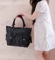 Women Leather Handbags Bags Handbags Women Famous Brands YAHE Women Messenger Shoulder Bags Vintage Organizer Handbags WB3036