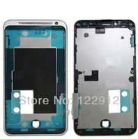 Front Bezel  Middle Midplate Mid-Plate Housing Chassis Frame Case With Front Cover For HTC EVO 3D G17 GSM/CDMA Sliver