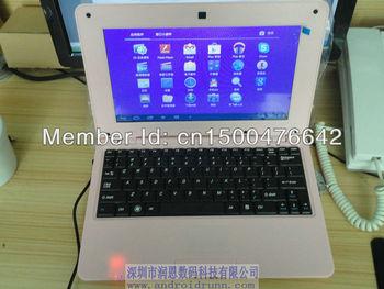Allwinner A10  netbook  wifi +3G+Camera
