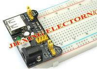 3.3V / 5V MB102 Breadboard power module+MB-102 830 points Solderless Prototype Bread board kit +65 Flexible jumper wires