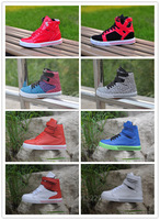 Free shipping factory supply high-top sneakers, men and women hip-hop casual shoes, sports shoes wholesale hip hop lovers