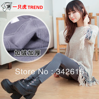 High quality women clothing Legging autumn female winter trousers grey pull maoku stockings