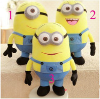 3pcs / set Despicable ME Movie Plush Toy 25cm/30cm/50cm Minion Jorge Stewart Dave