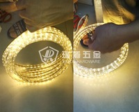 Free ship!! Wholesale 5m LED 3528 SMD 110V 220V gel light 60 led/m, WATERPROOF LED strip white/warm white colorful with adapter