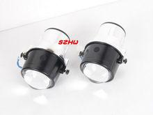 car bifocal fog lens Front bumper lights bifocal lens assembly for Mitsubishi Series L200 Grandis TRION