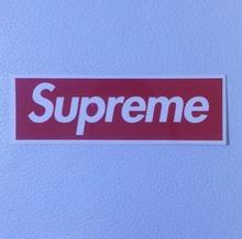 supreme classic box logo skateboard deposito paraurti auto della decalcomania del vinile laptop adesivo impermeabile(China (Mainland))