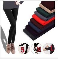 Min Order $15(mixed order)  Winter thickening women's plus velvet autumn plus size warm legging pants