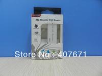5pcs/lot Portable Mini Wireless wifi Router 3G 4G Hotspot RJ45 150Mbps Wifi Hotspot support 3G USB modems Free Shipping