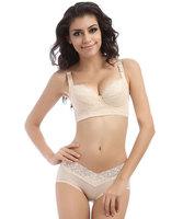 Free Shipping New 2014 Brand Women Sexy Bras Set Underwear Hot Ladies' Push Up Plunge Brassiere Bra Brief Set Woman B C D E Cup
