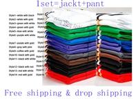 2014 New brand Unisex Suits SportsWear Women/Men Long-Sleeve Tracksuit Sport Suit Lesure Jacket+Pants Set Uniforms Sport hoody