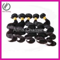 New Star Peruvian Virgin Hair Extension Loose Body Wave 3pcs lot Grade 5A Length 8-30 Inch Color Natural Black Free Shipping