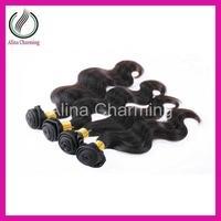 Free shipping Stema Hair 3pcs/lot mixed length cheap body wave Mongolian virgin hair extensions wholesale price human weaving