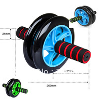 Fitness Ab Rollers Men Women Abdominal Wheel ab Roller For Exerciser and Weight Loss Wholesale Free Shipping