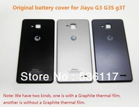2 colors 100% Original battery cover for Jiayu G3 G3S G3T smart phone back cover door case  free shipping