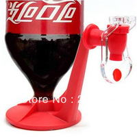 Creative Home Gardon Party Coke Bottle Holder Pressure Water Pumping Beverage Faucet Drinking Fountains Switch Drink Dispenser