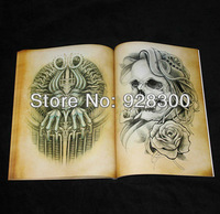 Unique Stlye Tattoo Books Magzine For Skull &Eagle ect.88 pages Free Shipping