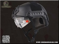 2013 NEW Emerson tactical Helmet with Protective Goggle Military Type helmet Military airsoft helmet  EM8820B  Black